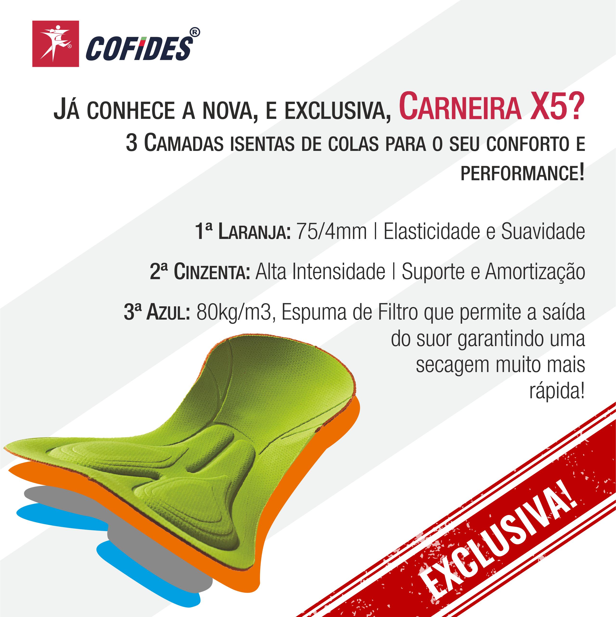 Carneira X5 | Descrição 2